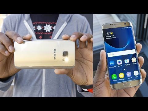 [MKBHD] Galaxy S7 and S7 Edge impression!