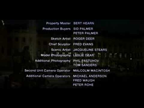 The Living Daylights End Credits - If There Was a Man