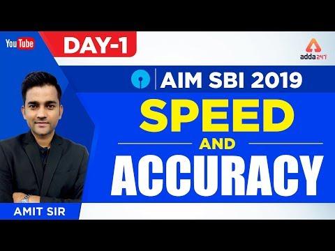 SBI PO 2019 | Speed and Accuracy | Aim SBI 2019 | Maths