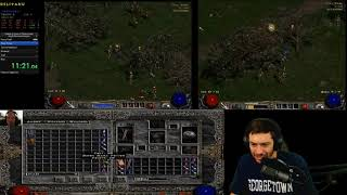 Diablo 2 - COMMUNITY SPEEDRUN RACE! - 14 racers - MrLlamaSC Shoutcasting!