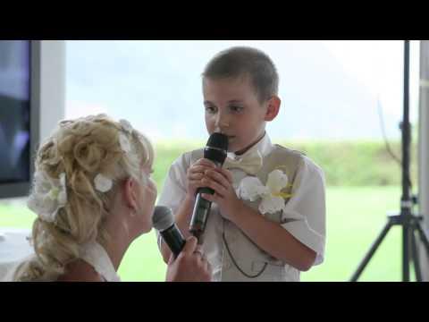 Вот так классно сын спел с мамой, ревели все! - Ржачные видео приколы