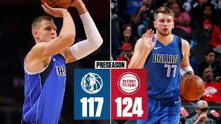 Kristaps Porzingis and Luka Doncic put on a show in their first game together | 2019 NBA Highlights