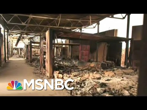 Watch: An Inside Look At What's Left Of Iraqi Air Base Attacked By Iran | MSNBC