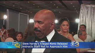 Steve Harvey's Alleged Memo To Staff: Do Not Approach Me