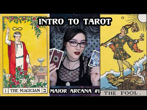 Tarot For Beginners Intro To Major Arcana | #1 The Fool, The Magician