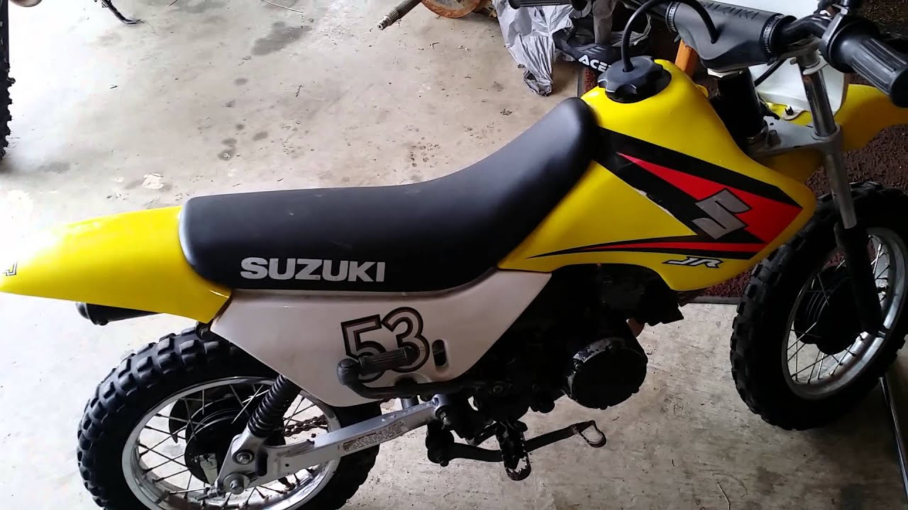 Suzuki jr50 dropped down in size youtube freerunsca Images