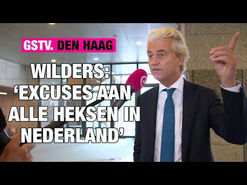Wilders maakt EXCUSES aan alle HEKSEN