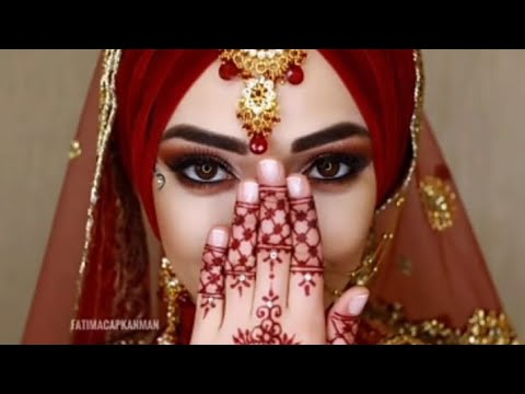 Download Hijab bridal makeup jewelry photoshoot
