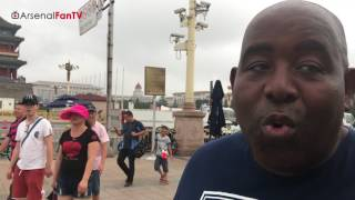 Arsenal's Red Army, Moves From Shanghai to Beijing!   AFTV In China Vlog