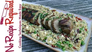 How to Grill Pork Tenderloin - NoRecipeRequired.com