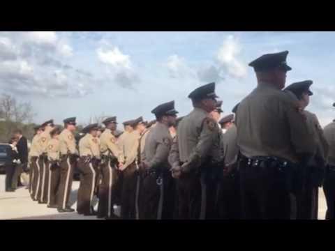 Officer Blake Snyder Memorial Park Dedication