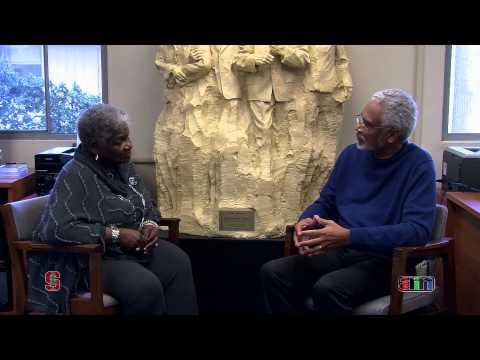 Part 1 of Queen Ann Cannon's interview with Dr. Clayborne Carson