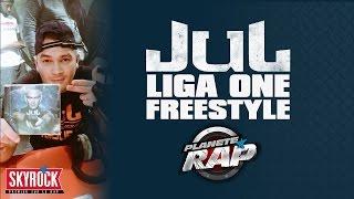 Enorme freestyle de Jul avec Liga One en live dans Planète Rap