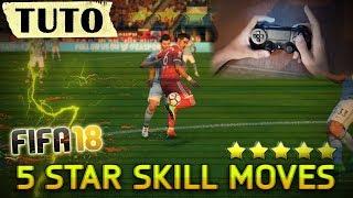 FIFA 18 LES GESTES TECHNIQUES 5 ETOILES TUTO (Illustré) thumbnail