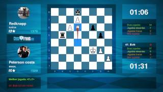 Chess Game Analysis: Peterson costa - Redknapp : 1-0 (By ChessFriends.com)