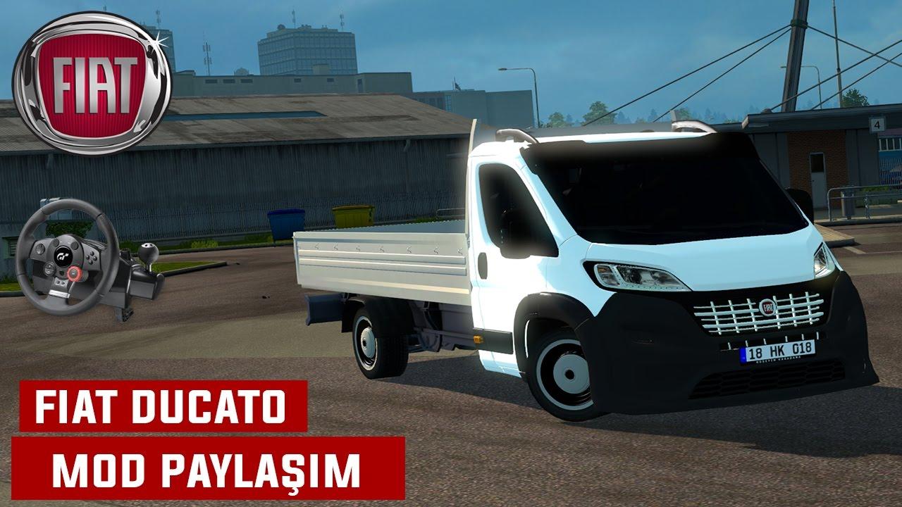euro truck simulator 2 fiat ducato 2016 mod payla m logitech dfgt youtube. Black Bedroom Furniture Sets. Home Design Ideas