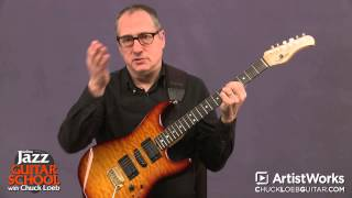 Jazz Guitar with Chuck Loeb: 2-5 Progression in Minor Keys