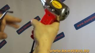 как качественно починить крепления бампера (у крыла ) Hyundai Solaris - repair of bamper