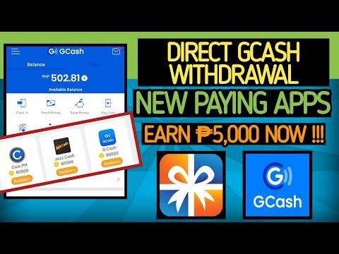 DIRECT GCASH WITHDRAWAL| NEW EARNING APPS | EARN 5,000 PESOS USING CELLPHONE| MAKE MONEY ONLINE 2021