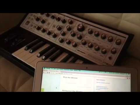 I SPEAK MACHINE / Moog Music / Gary Numan - Moog Sub Phatty Giveaway!