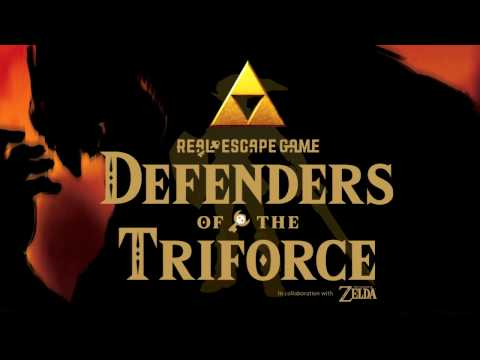Degenders of the Triforce-Real Escape Game x The Legend of Zelda