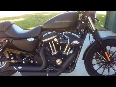 Harley Davidson Iron 883 With Vance Amp Hines Short Shots