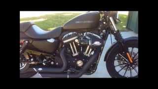 Harley Davidson Iron 883 with Vance & Hines Short Shots