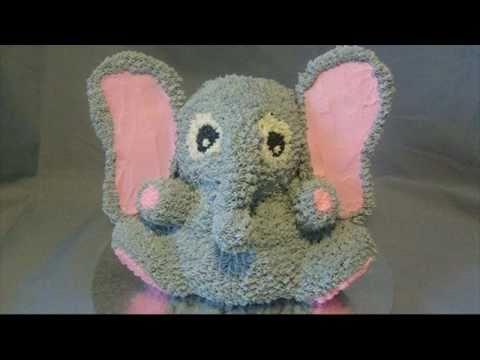 D Elephant Cake How To Make