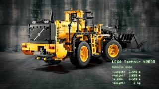 LEGO Technic - 42030 VOLVO L350F Kolový nakladač na dálkové ovládání