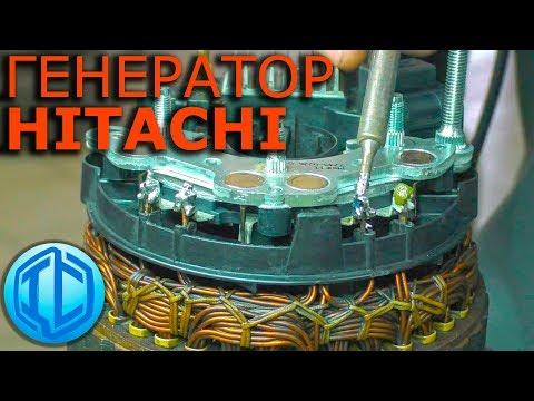 Nissan Patrol Пропала зарядка! Ремонт генератора HITACHI