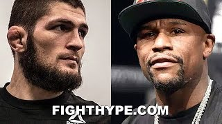 (WHOA!) KHABIB RESPONDS TO MAYWEATHER; DOWN TO SCRAP ON ONE CONDITION: