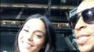 Vanessa Hudgens Freestyles for Ludacris