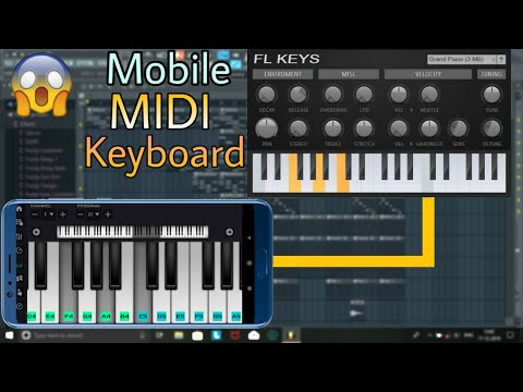 Android Phone As MIDI Controller | MIDI Controller App Tutorial
