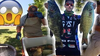 Bizarre Fishing Tournament Rule Results in us LOSING!! 23.5 Pounds of Lake St Clair Smallies