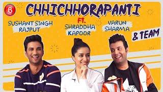 CRAZY Conversation With Chhichhore Gang   Sushant Singh Rajput   Shraddha Kapoor   Varun Sharma
