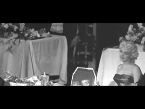 Footage of Marilyn Monroe At Event 1955 -  It Doesn't Matter What You Look LikeInterview