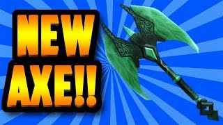 [EPIC] BRAND NEW LUCKY AXE EXOTIC!!! (ROBLOX ASSASSIN)