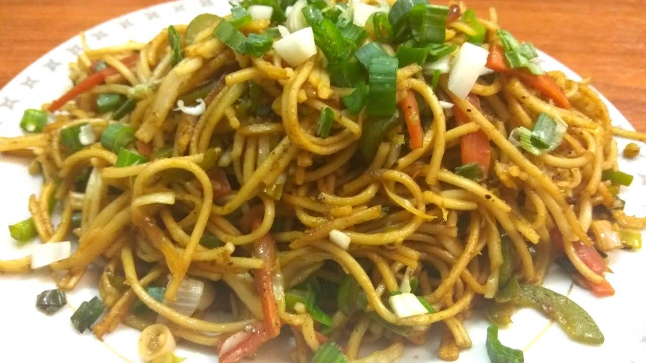Vegetable hakka noodles recipe vegetable hakka noodles recipe hakka noodles recipe in hindi food forever forumfinder Choice Image
