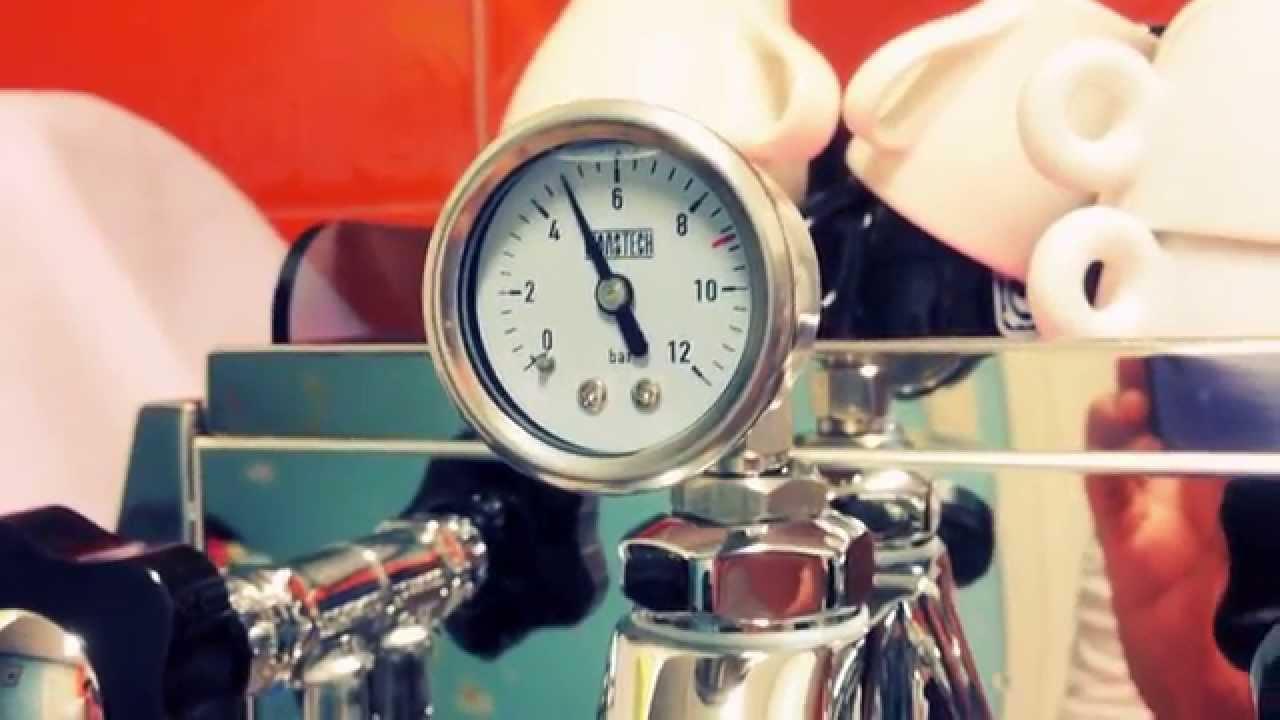 E61 group brew pressure manometer