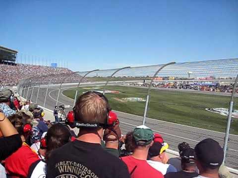 NASCAR Sprint Cup Kansas Speedway Oct 04, 2009 First Lap