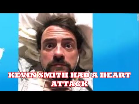 Kevin Smith DIrector & Legit Comic Book Geek Had A Near Fatal Heart Attack