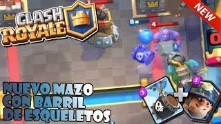 EL MEJOR MAZO CON BARRIL DE ESQUELETOS | Clash Royale | LPratix