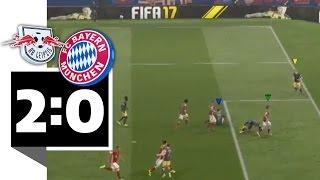 RB Leipzig schlägt Bayern München - auf der Playstation - BILD FIFA 17 Turnier
