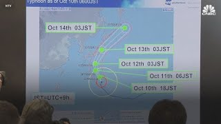 Super typhoon threatens Japan with strong wind, heavy rainfall