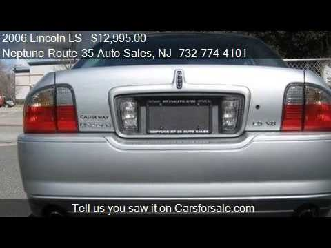 2006 lincoln ls sport for sale in neptune nj 07753 youtube. Black Bedroom Furniture Sets. Home Design Ideas