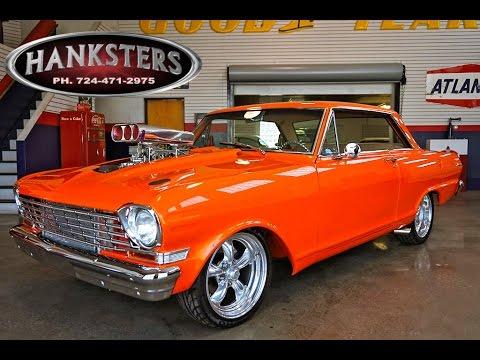 1963 Chevrolet Nova W Supercharged 396ci Big Block Turbo
