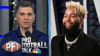 PFT Overtime: Odell Beckham to Browns, bad fits for Antonio Brown | Pro Football Talk | NBC Sports