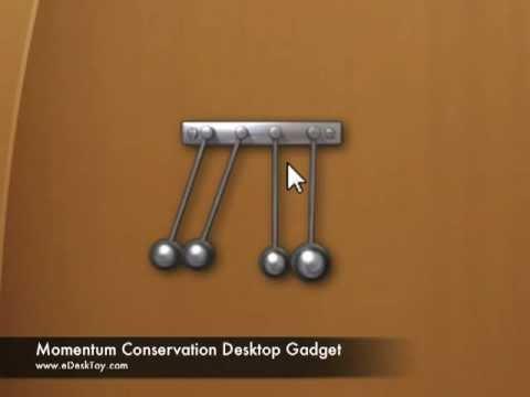 Newton Balls Executive Gadget for Mac and Windows