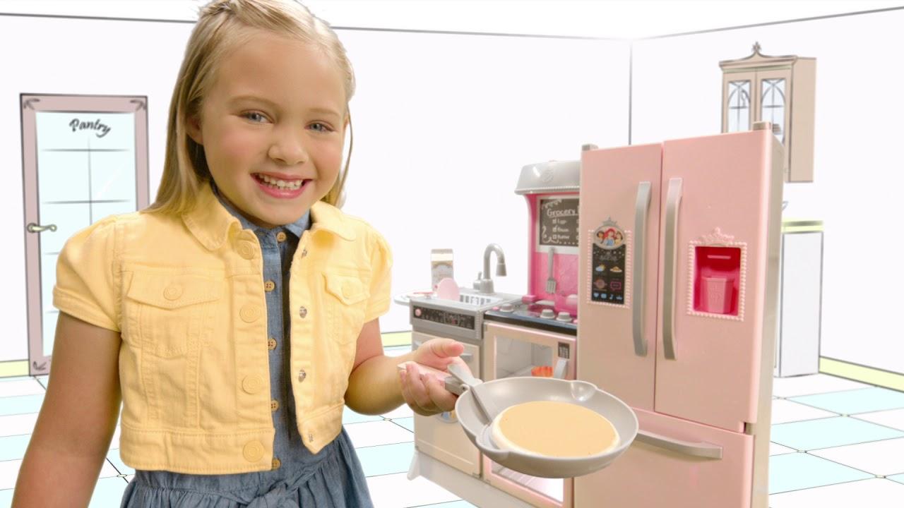 Disney Princess Style Collection Gourmet Smart Kitchen Jakks Pacific Youtube