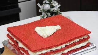 Красный бархат (Red Velvet) простой рецепт